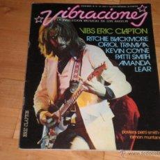 Revistas de música: MUSICA. REVISTA VIBRACIONES Nº26. NOVIEMBRE 76. Lote 40161562