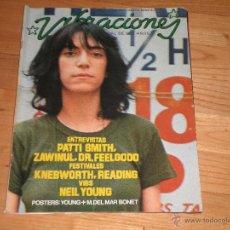 Revistas de música: MUSICA. REVISTA VIBRACIONES Nº25. OCTUBRE 76. Lote 40161636