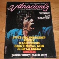 Revistas de música: MUSICA. REVISTA VIBRACIONES Nº19. ABRIL 76. Lote 40161652