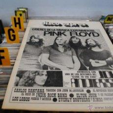 Revistas de música: REVISTA DISCO EXPRES - 1972 - PINK FLOYD. Lote 40919172
