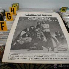 Revistas de música: REVISTA DISCO EXPRES - 1972 - JOHN LENNON. Lote 40919724