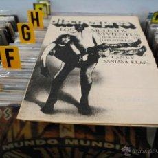 Revistas de música: REVISTA DISCO EXPRES 1977 LED ZEPPELIN PINK FLOYD. Lote 40919864
