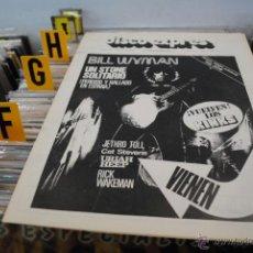 Revistas de música: REVISTA DISCO EXPRES 1976 BILL WYMAN ROLLING STONES. Lote 40920185