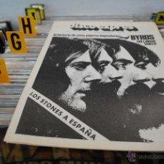 Revistas de música: REVISTA DISCO EXPRES 1976 ROLLING STONES + THE BYRDS. Lote 40920201