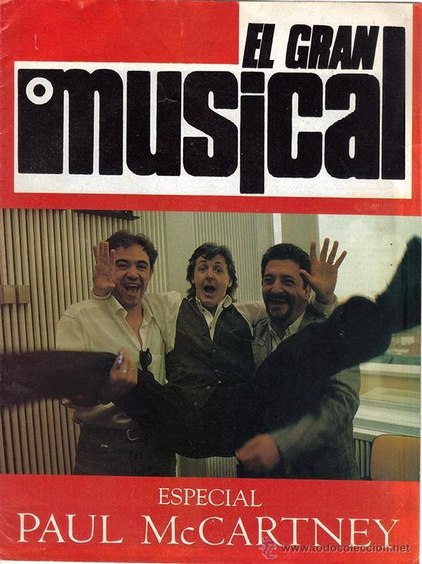 Suplemento el gran musical visita paul mccartne - Sold through ...