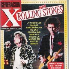 Revistas de música: THE ROLLING STONES ESPECIAL EN REVISTA GENERACION X. Lote 41002054