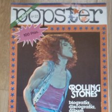 Revistas de música: ROLLING STONES SPECIAL -1980 POPSTER SPANISH MAGAZINE -POSTER BIO DISCOGRAPHY.... Lote 41058306