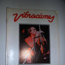 Revistas de música: REVISTA VIBRACIONES Nº 85. OCTUBRE 1981.. Lote 41157119