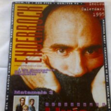 Revistas de música: REVISTA ENDERROCK Nº 10 GEN-FEB 95 LLUIS LLACH - ROCK CATALÀ - COLECCIONISTES. Lote 41370521