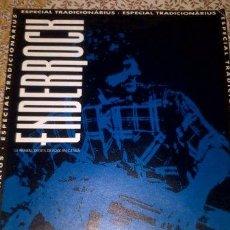 Revistas de música: REVISTA ENDERROCK - SUPLEMENT ESPECIAL TRADICIONÀRIUS 95 - ROCK CATALÀ - COLECCIONISTES. Lote 41371392