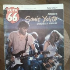 Revistas de música: RUTA 66 -# 33 1988 SONIC YOUTH PSYCHOBILLY 50'S COUNT FIVE RUSS MEYER. Lote 41644480