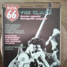 Revistas de música: RUTA 66 -# 49 1990 THE CLASH -BARRACUDAS - ANGRY SAMOANS -HARLEY DAVIDSON PUNK. Lote 41646528