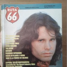 Revistas de música: RUTA 66 -# 59 1991 THE DOORS -REZILLOS -SELLO INDEPENDIENTES. Lote 41648122