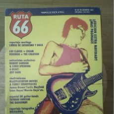 Revistas de música: RUTA 66 -# 68 1991 -PUNK UK 77 -STIFF LITTLE FINGERS - ROBERT GORDON -TEENAGE FAN CLUB. Lote 41649175