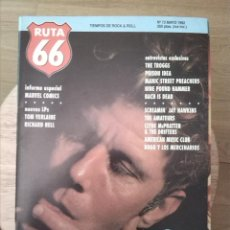 Revistas de música: RUTA 66 -# 73 1992 TOM WAITS - THE TROGGS - POISON IDEA -MARVEL COMICS. Lote 41654231