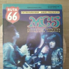 Revistas de música: RUTA 66 -# 79 1992 MC5 -BUZZCOCKS -ZAPPA - CINE ROCK -PUNK. Lote 41655685