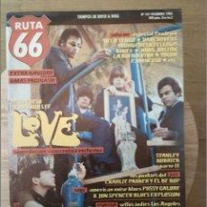 Revistas de música: RUTA 66 -# 101 1994 LOVE BOMP RECORDS -POSTER (POISON IVY) CRAMPS. Lote 41659192