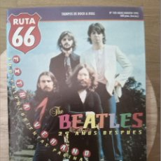 Revistas de música: RUTA 66 -# 108 1995 -BEATLES 20 AÑOS DESPUES -FUGAZI GRAND FUNK. Lote 41659201