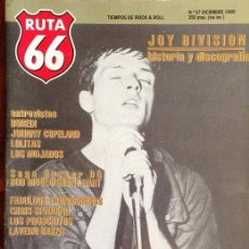 Revistas de música: RUTA 66 -# 57 1990 JOY DIVISION -HUSKER DU -BORED! -AFTER PUNK. Lote 41659229