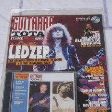 Revistas de música: REVISTA : GUITARRA TOTAL Nº 66 Y CD.. Lote 41676879