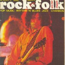 Revistas de música: ROCK & FOLK Nº 66 JUILLET 72 - REVISTA FRANCESA. POP MUSIC RHYTHM 'N'. BLUES JAZZ CHANSON. Lote 41819681
