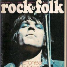 Revistas de música: ROCK & FOLK Nº 81 OCTOBRE 73 - REVISTA FRANCESA. MICK JAGGER.. Lote 41819803