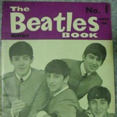 Revistas de música: REVISTA ''THE BEATLES MONTHLY BOOK'' - Nº 1 - AGOSTO DE 1963. Lote 41870268