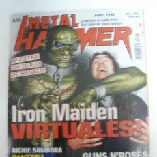 Revistas de música: REVISTA METAL HAMMER Nº 125 PORTADA IRON MAIDEN CON POSTER DOBLE . Lote 42138834