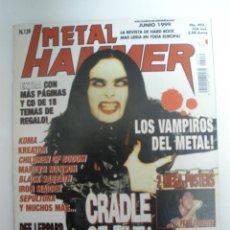 Revistas de música: METAL HAMMER Nº 139 POSTER DE FEAR FACTORY Y MEGADETH . Lote 42140085