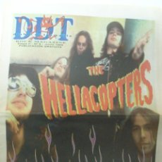 Revistas de música: DDT ROCK MAGAZINE ETAPA 2 Nº 6 JUNIO 1999 HELLACOPTERS KREATOR ME FIRST AND THE GIMME. Lote 42483698