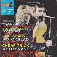 Revistas de música: REVISTA MUSICAL POPULAR 1 ESPECIAL CONCIERTO READING' 79. Lote 42546873