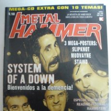 Revistas de música: METAL HAMMER Nº 168 2001-SYSTEM OF A DOWN-MARILYN MANSON-RAMMSTEIN. Lote 42666591