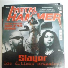 Revistas de música: METAL HAMMER Nº 165 SLAYER-KISS-BACKYARD BABIES-HALFORD-POSTER:CRADLE OF FILTH. Lote 42666697