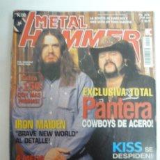 Revistas de música: METAL HAMMER Nº 150 - MAYO 2000 - PANTERA, IRON MAIDEN, ENTOMBED EXTRA. Lote 139708196