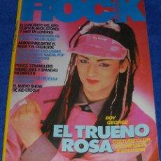 Revistas de música: ROCK ESPEZIAL Nº 27 - BOY GEORGE (1983). Lote 42701620
