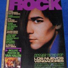 Revistas de música: ROCK ESPEZIAL Nº 11 - QUEEN - VAN HALEN (1982). Lote 42701645