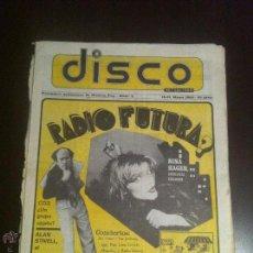 Revistas de música: PERIÓDICO DISCO. NÚMERO 3. DEL 15 AL 31 DE MAYO DE 1981. BUEN ESTADO DE CONSERVACIÓN.. Lote 42998392