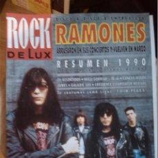 Revistas de música: ROCK DE LUX -Nº 71 ENERO 1981 -RAMONES -PORTADA ARTICULO Y ENTREVISTA. Lote 56930698