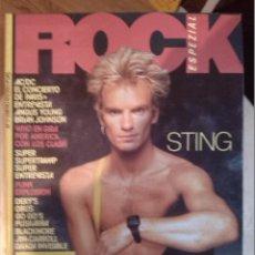 Revistas de música: ROCK ESPEZIAL -Nº 17 ENERO 1983 -STING POLICE AC/DC CONCIERTO + ENTREVISTA - PUNK EXPLOSION. Lote 43066482