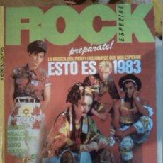 Revistas de música: ROCK ESPEZIAL -Nº 16 DICIEMBRE 1982 -CULTURE CLUB -PARALISIS PERMANENTE SIOUXIE -PUNK. Lote 43066559
