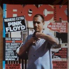 Revistas de música: ROCK ESPEZIAL -ESPEZIAL PINK FLOYD -INCLUYE DOBLE SUPER POSTER A TODO COLOR -SYD BARRET. Lote 43066972