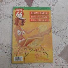 Revistas de música: RUTA 66 Nº 42: ROY LONEY. LOS ELEGANTES. THE SHIFTERS. THE BIRDHOUSE. CANIBALES. DAVE ALLAN & THE AR. Lote 104096624
