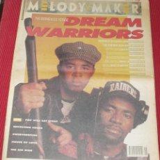 Revistas de música: MELODY MAKER REVISTA 2 FEBRERO AÑO 1991 DREAMS WARRIORS MANIC STREET ORBITAL FLUKE IMPORT UK 1991. Lote 43318707