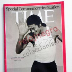 Revistas de música: MICHAEL JACKSON REVISTA TIME JULY 2009 SPECIAL COMMEMORATIVE EDITION FOTOS CANTANTE MÚSICA POP EEUU. Lote 43332680