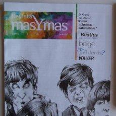 Revistas de música: BEATLES REVISTA MAS Y MAS. Lote 107915991