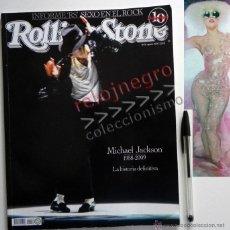 Revistas de música: ROLLING STONE ESPECIAL MICHAEL JACKSON REVISTA DE MÚSICA 2009 SEXO EN EL ROCK - LADY GAGA HULK HOGAN. Lote 43975236