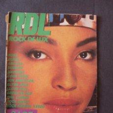Revistas de música: REVISTA ROCK DE LUX Nº 16 THIN LIZZY HERTZAINAK GREEN ON RED YOUNG MARBLE GIANTS BURNING QUEEN RDL. Lote 44158110