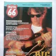 Revistas de música: RUTA 66 Nº 90, DICIEMBRE 1993. BIG STAR. LEMONHEADS. THE MONKEES. JOE TEX. Lote 44244887