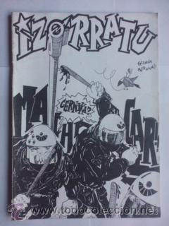 FANZINE IZORRATU Nº PERDIGON LOBERO 1987,ENTREVISTAS A KORTATU Y MCD,COMICS,POLITICA VASCA (Música - Revistas, Manuales y Cursos)