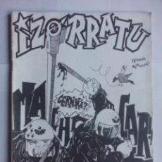 Riviste di musica: FANZINE IZORRATU Nº PERDIGON LOBERO 1987,ENTREVISTAS A KORTATU Y MCD,COMICS,POLITICA VASCA. Lote 44362765